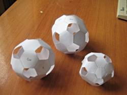 Бумажные модели фуллеренов